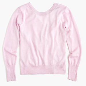 J. Crew Merino Wool Wrap Back Sweater